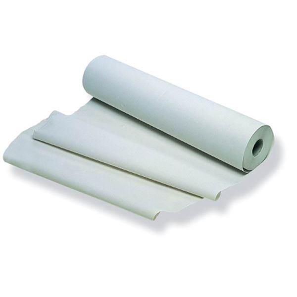 Imagen de Rollo de papel camilla color blanco