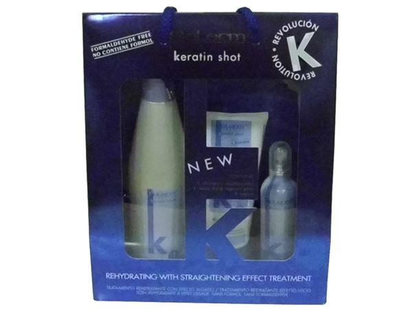 Imagen de Pack Tratamiento Alisador Rehidratante con Keratina (mantenimiento en casa)