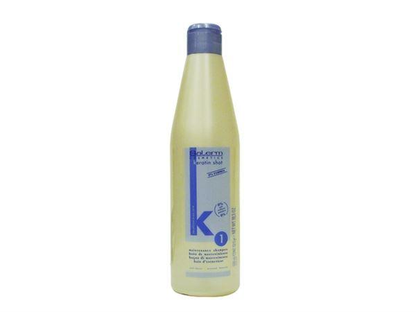 Imagen de Champú Baño de Mantenimiento Keratin Shot 500 ml. Salerm