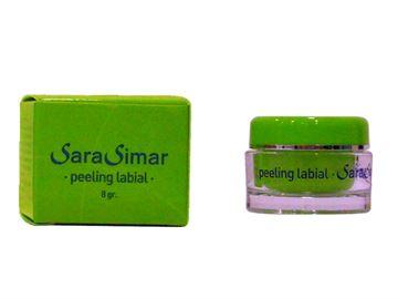 Imagen de Peeling Labial Sara Simar 8 gr