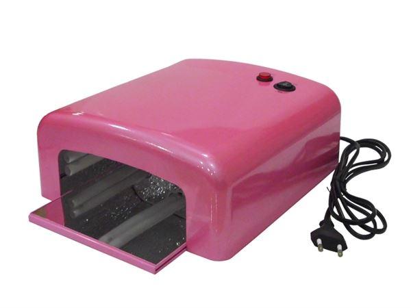 Imagen de Lámpara UV de Secado de Uñas (color rosa) con TARA (64)