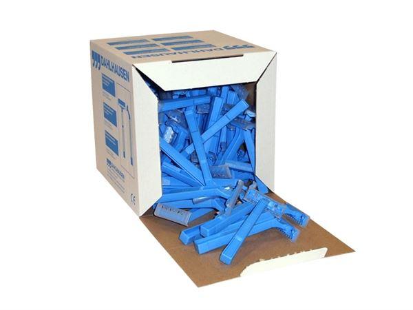 Imagen de Caja de Cuchillas de Afeitar Rasuradora (100 unidades) Dahlhausen