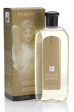 Imagen de Gel de Baño y Ducha Alqvimia Relajante de Lavanda Vitalidad y Relajación 400 ml