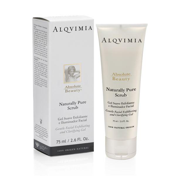 Imagen de Gel Exfoliante Facial Naturally Pure Scrub Alqvimia 75 ml