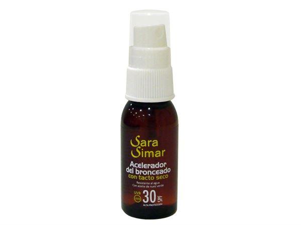 Imagen de Aceite Acelerador del Bronceado Sara Simar SPF-30 30 ml