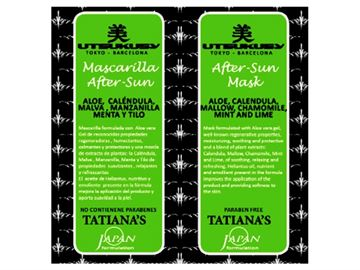 Imagen de Mascarilla Facial After Sun para Cutis Sensibles 20 ml. Tatiana's