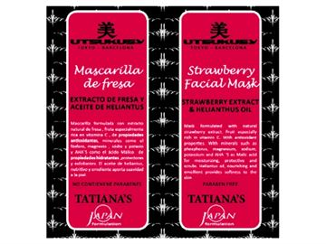 Imagen de Mascarilla de Fresa 20 ml. Tatiana's