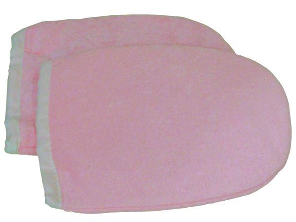 Imagen de Manoplas de Parafina de color Rosa (un par)