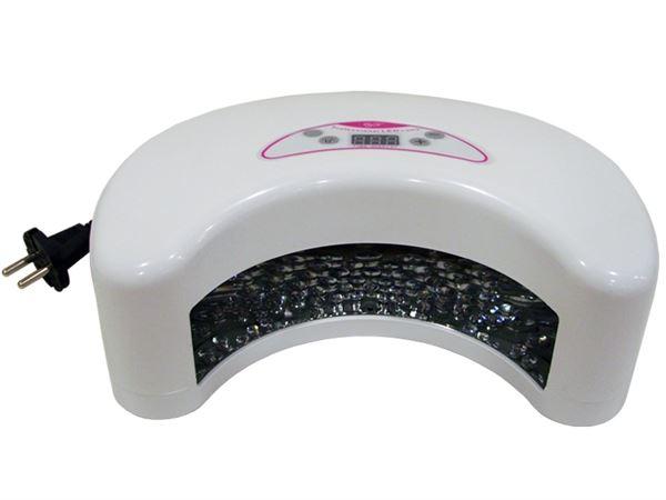 Imagen de Lámpara de Leds para Secado de Uñas Media Luna Color Blanco YF