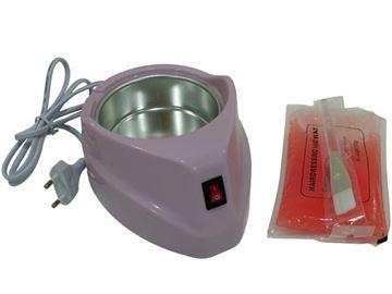 Imagen de Kit con Calentador de parafina + Parafina + Pincel