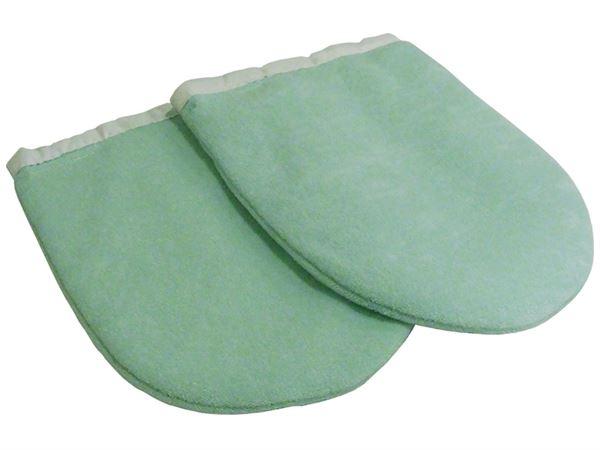 Imagen de Manoplas de Parafina en color Verde (un par)
