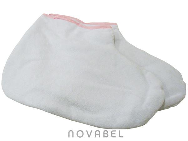 Imagen de Peucos de Parafina en color Blanco (un par)