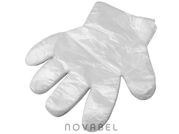 Imagen de 100 Guantes de Plástico Desechables