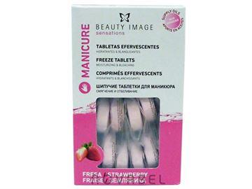 Imagen de Tabletas Efervescentes de Fresa Hidratantes y Blanqueantes para Manos (20 unidades)
