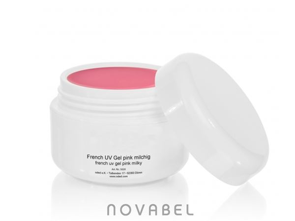 Imagen de Gel uv french sin acido color rosa 15ml 5020