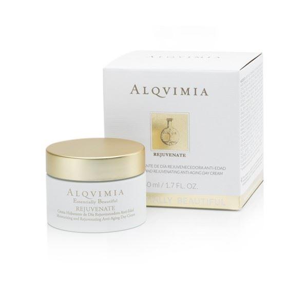 Imagen de Crema Hidratante de Día  Rejuvenecedora (REJUVENATE) Anti-Edad Essentially 50 ml Beautiful Alqvimia