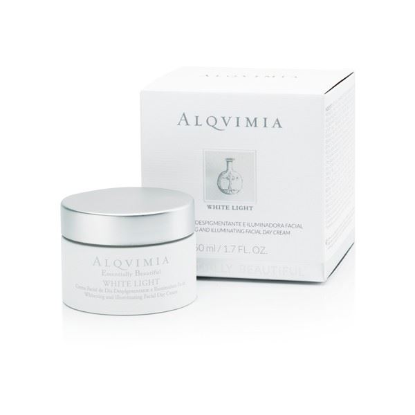 Imagen de Crema de Día Despigmentante e Iluminadora (WHITE LIGHT) Facial  Essentially Beautiful Alqvimia 50 ml