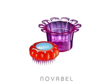 Imagen de CEPILLO TANGLE TEEZER MAGIC FLOWERPOT LILA