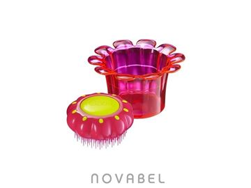 Imagen de CEPILLO TANGLE TEEZER MAGIC FLOWERPOT ROSA