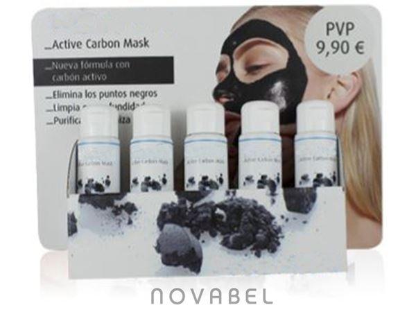 Imagen de Expositor Mascarilla Facial de Carbón Activo (10 unidades)