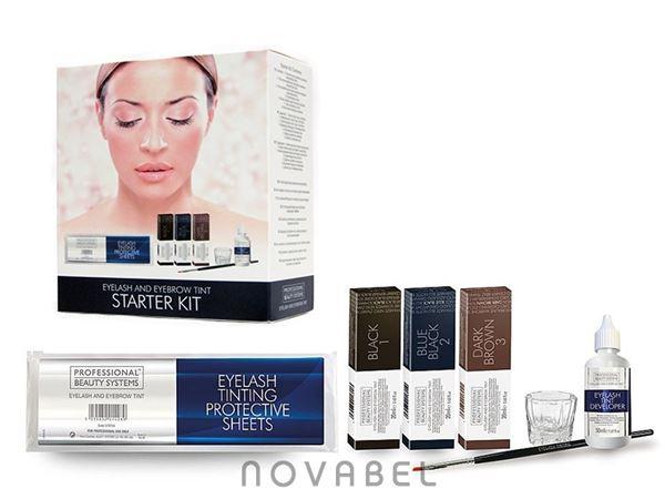 Imagen de Kit de tinte de Cejas y Pestañas Eyelash & Eyebrow BS