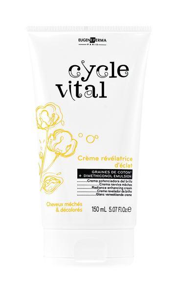 Imagen de Cycle Vital Crema Revelador de Brillo Eugene Perma reparador 150 ml