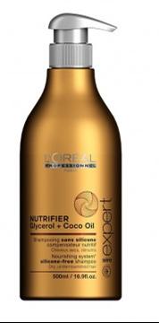 Imagen de CHAMPÚ NUTRIFIER GLYCEROL + COCO OIL LOREAL PARA CABELLOS SECOS