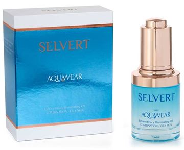 Imagen de Aquawear Selvert Extraordinary Illuminating Oil Combination/Oily Skin 30 ml