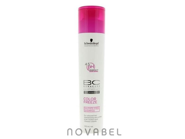 Imagen de BC Color Freeze Champú Sin Sulfatos Schwarzkopf  250ML
