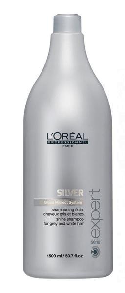 Imagen de Silver Champú Loreal Cabellos Grises y Blancos 1500 ml