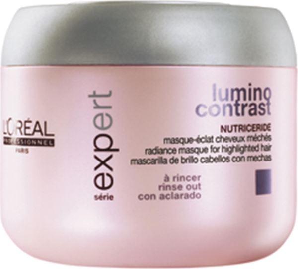 Imagen de Lumino Contrast Mascarilla Loreal Cabellos con Mechas 500 ml