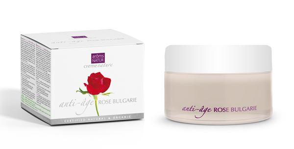 Imagen de Crema Antiedad Aroms Natur Rosa de Bulgaria 50 ml