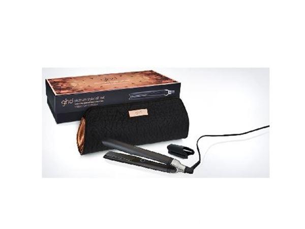 Imagen de Plancha Platinum Cooper Luxe  Black Gift Set GHD
