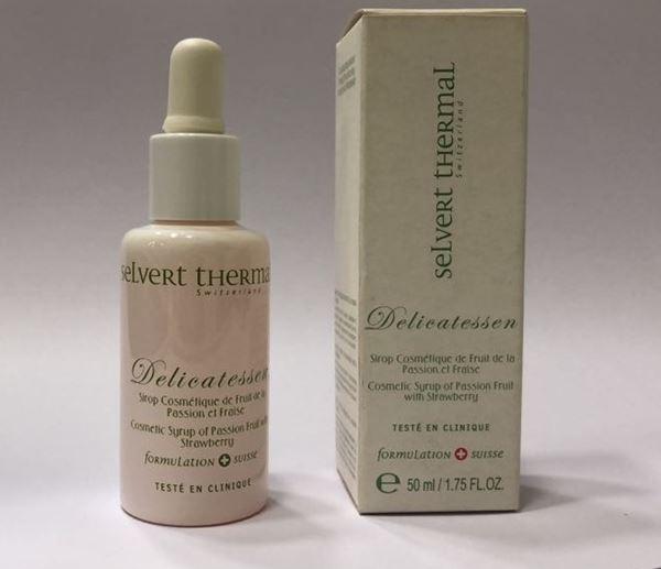 Imagen de Delicatessen Selvert Sirop Cosmetique de Fruit de la Pasion et Fraise 50 ml