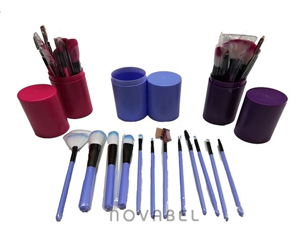 Imagen de Cubilete 12 pinceles de maquillaje