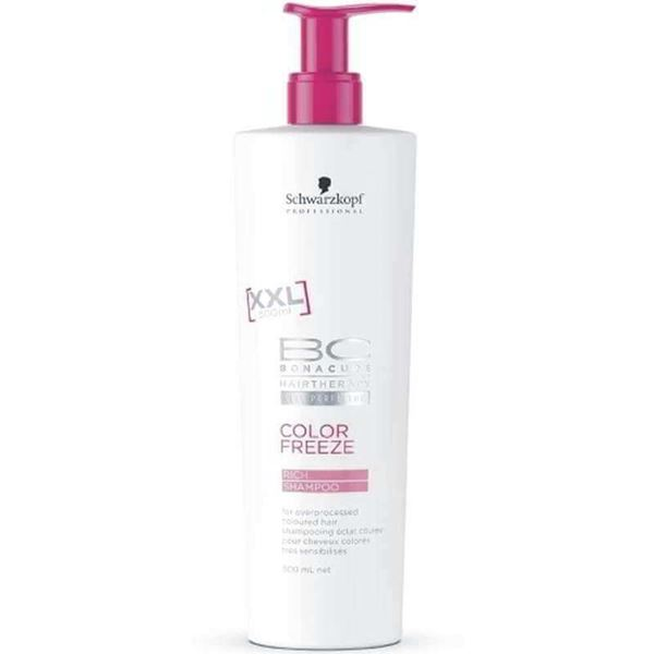 Imagen de BC Color Freeze Champú Sin Sulfatos XXL Schwarzkopf 500ML