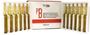 Imagen de Ampollas de Placenta para el Cabello (12 unidades) Egalle Nuevo Formato