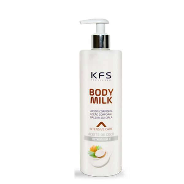Imagen de Body Milk  KFS Aceite de Coco 500ml