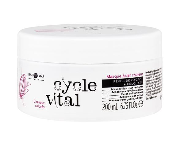 Imagen de Cycle Vital Mascarilla Color Eugene Perma radiante 200ml