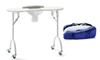 Imagen de Mesa de manicura plegable y portable con aspirador  XN
