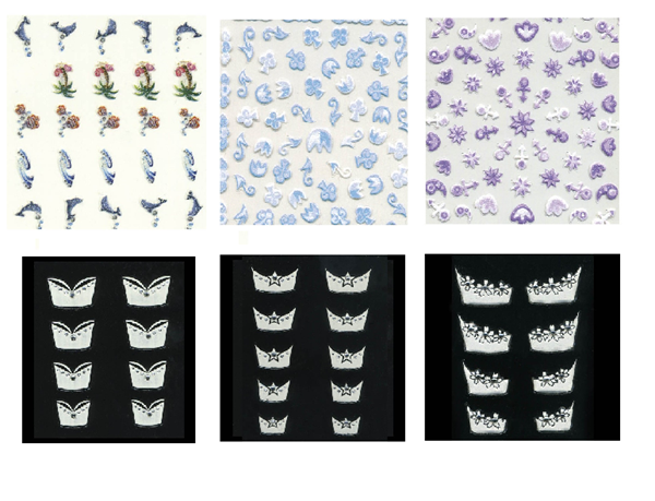Imagen de Stickers Thuya decorativas