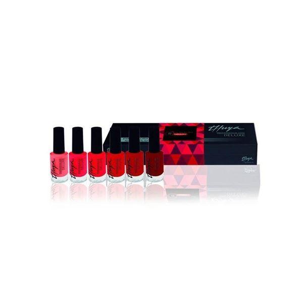 Imagen de Pack Esmaltes Thuya Deluxe Rojos opción A 6 ud
