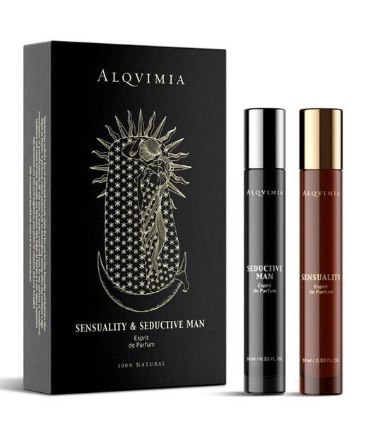 Imagen de Cofre Alqvimia Duo Esprits de Parfum sensuality seductive