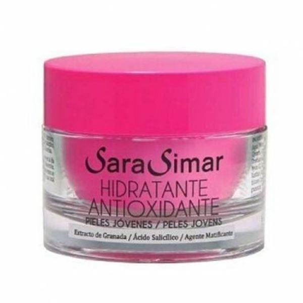 Imagen de Crema Hidratante Sara Simar antioxidante 50 ml