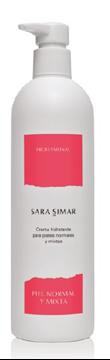 Imagen de Crema Hidratante Sara Simar pieles normales y mixtas 400 ml
