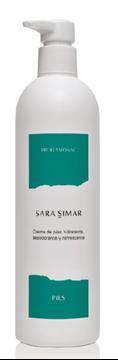 Imagen de Crema de Pies Sara Simar hidratante 400 ml
