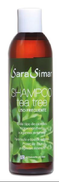 Imagen de Champú Sara Simar tea tree 300 ml