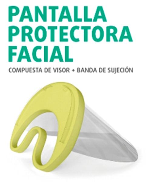 Imagen de Pantalla Protectora Facial - 20 unidades
