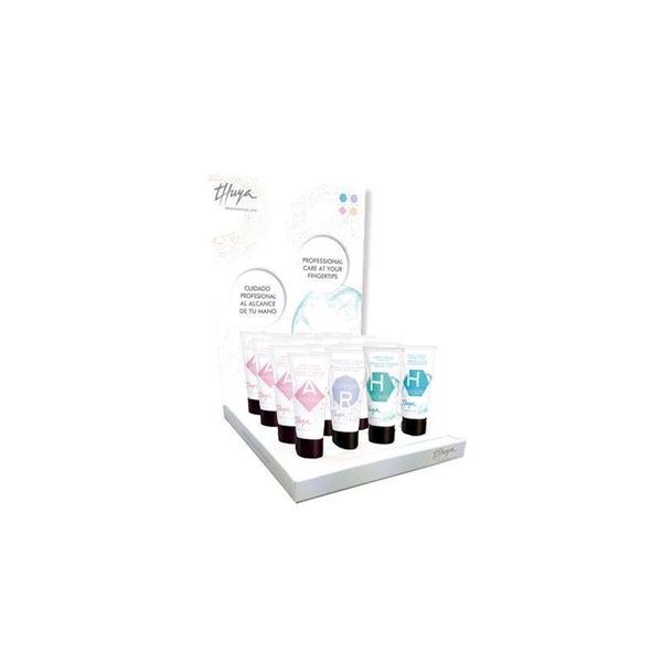 Imagen de Expositor Mix Cremas Retail Thuya manos y pies 16 ud