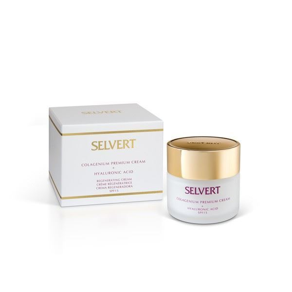 Imagen de Colagenium Selvert Premium Cream + Hyaluronic Acid 50ML